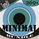 Minimal Background Patterns Bundle - GraphicRiver Item for Sale