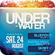 Underwater Party Flyer - GraphicRiver Item for Sale