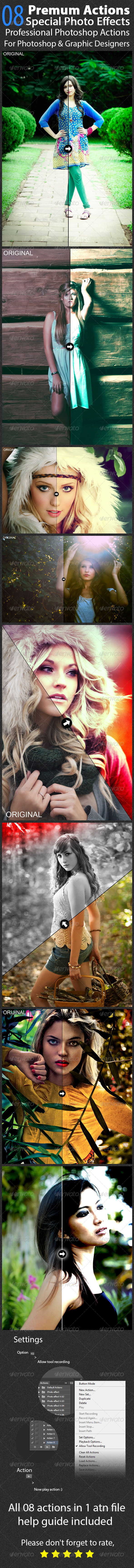 GraphicRiver Photo Effect V.08 8179490