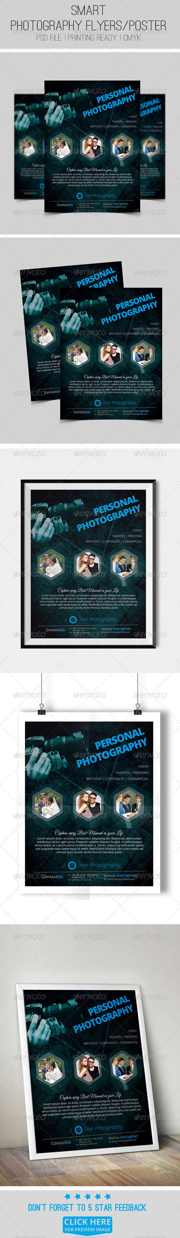 GraphicRiver Photography Flyer Poster Template 8179563