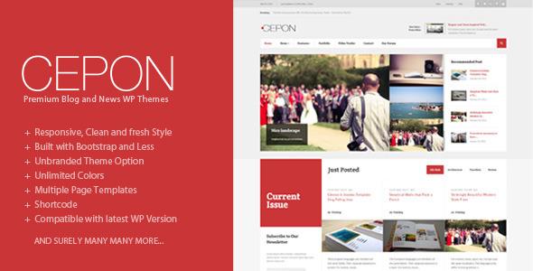ThemeForest Cepon News and Magazine WordPress Themes 8179635