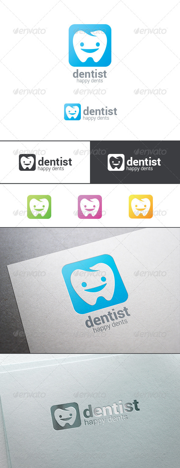 GraphicRiver Dentist or Dental Clinic Logo Abstract 8179960