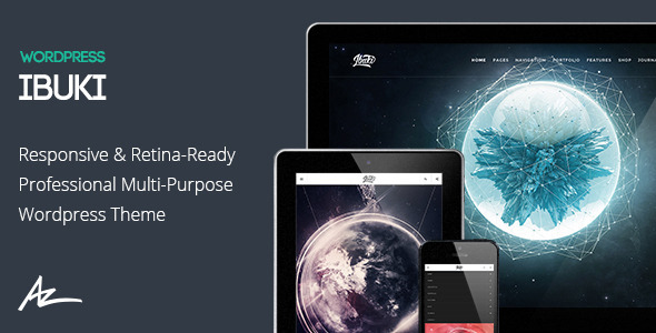 Ibuki - Creative & Shop WordPress Theme - Creative WordPress