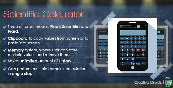 CodeCanyon Scientific Calculator 8180000