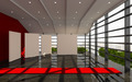 Red office interior modern - PhotoDune Item for Sale
