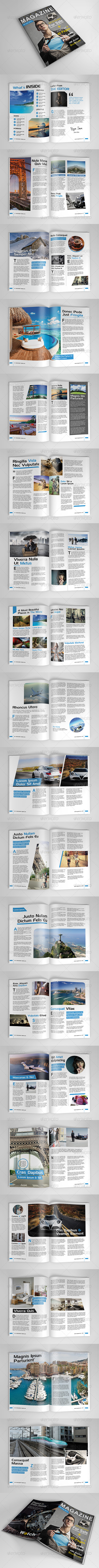 GraphicRiver A4 Magazine Template Vol 3 8180997