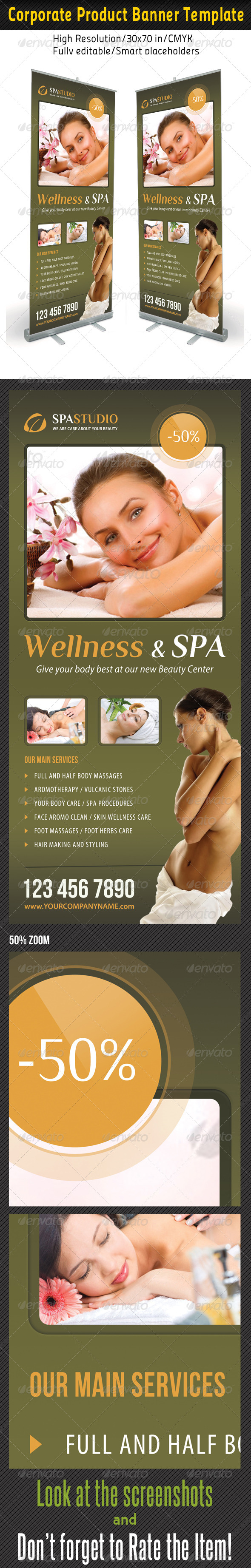 Spa Studio Multipurpose Banner 19
