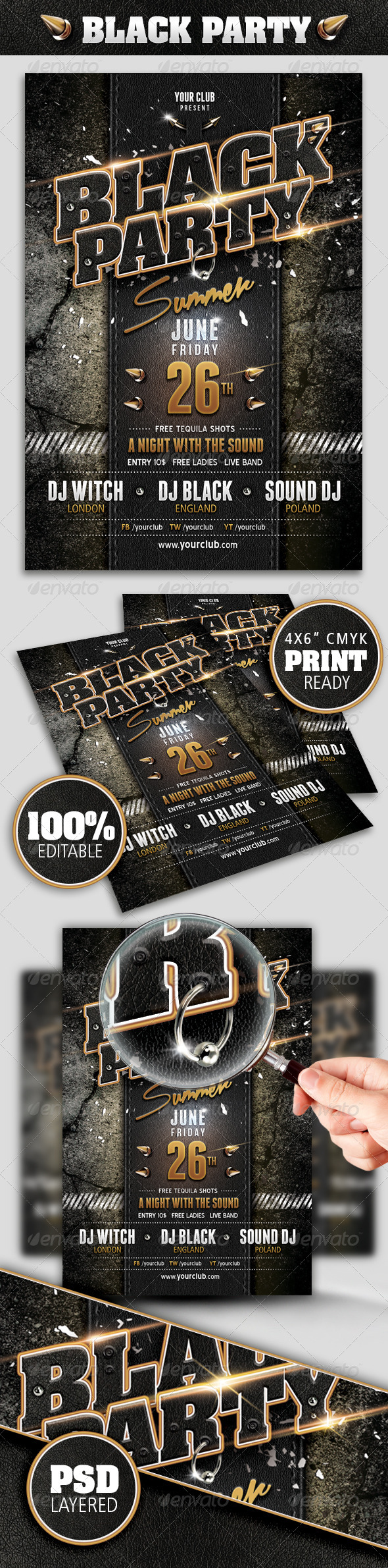 GraphicRiver Black Party 8151015