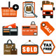 Shopping Icons - Flat Icons Set - GraphicRiver Item for Sale
