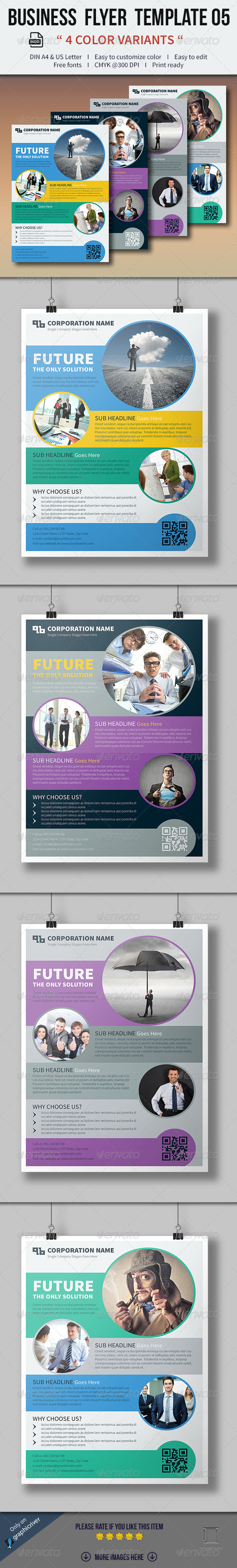 GraphicRiver Business Flyer Template 05 8181789