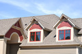 Gable Dormers on Residential Home - PhotoDune Item for Sale