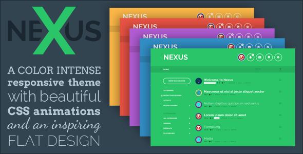 Nexus - Premium Vanilla 2 Theme
