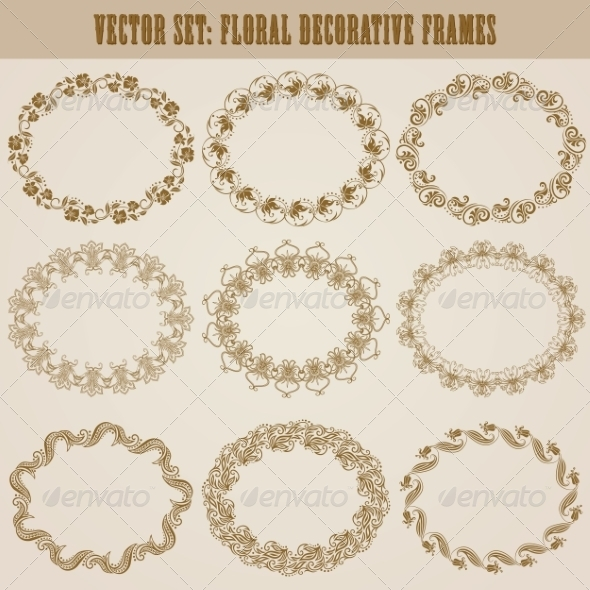GraphicRiver Decorative Frames 8182622
