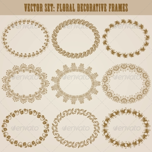 GraphicRiver Decorative Frames 8182625