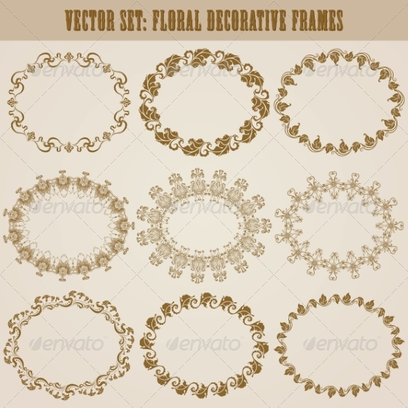 GraphicRiver Decorative Frames 8182626