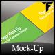 Flyer Mock Up Vol. 2 - GraphicRiver Item for Sale