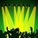 Audience Spotlight Represents Backdrop Backgrounds And Entertain - PhotoDune Item for Sale