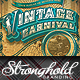 Vintage Carnival Circus Event Flyer Template - GraphicRiver Item for Sale