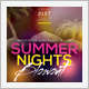 Summer Nights Party Flyer  - GraphicRiver Item for Sale
