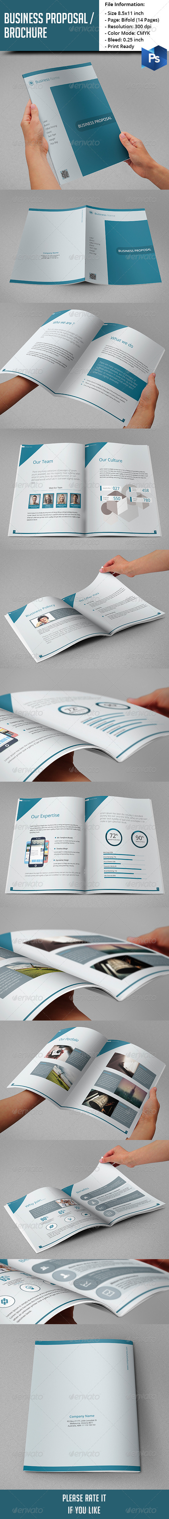GraphicRiver Business Proposal Brochure 8178834