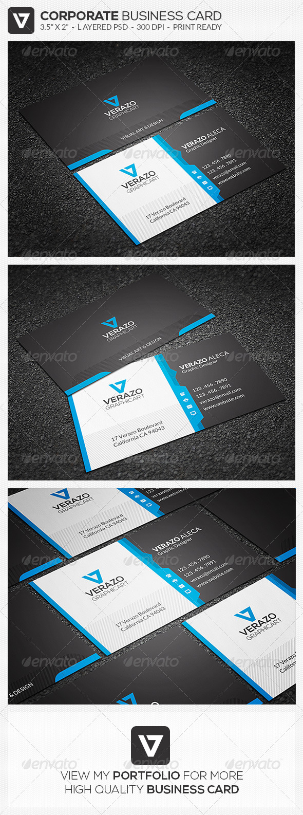 GraphicRiver Creative Corporate Business Card 45 8183184