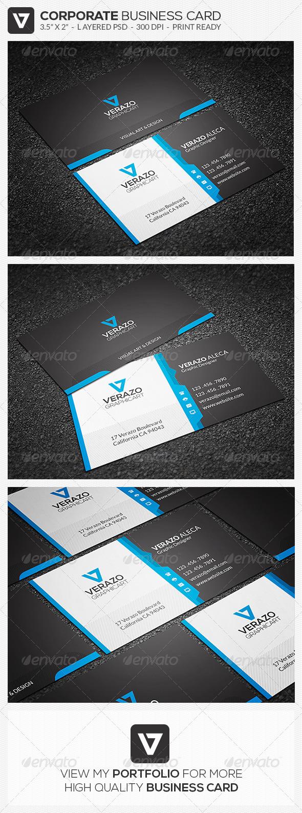 GraphicRiver Creative Corporate Business Card 45 8183184
