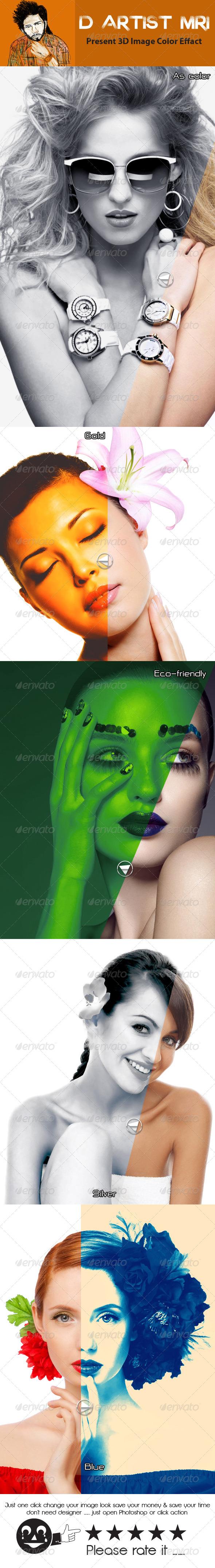 GraphicRiver Premium Color Action 8183318