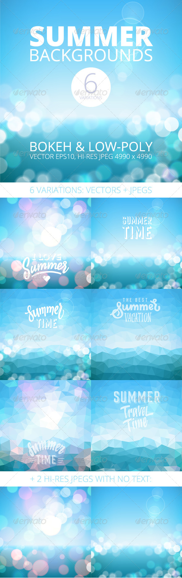 GraphicRiver Summer Holiday Tropical Beach Background 8183550