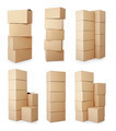 piles of cardboard boxes - PhotoDune Item for Sale