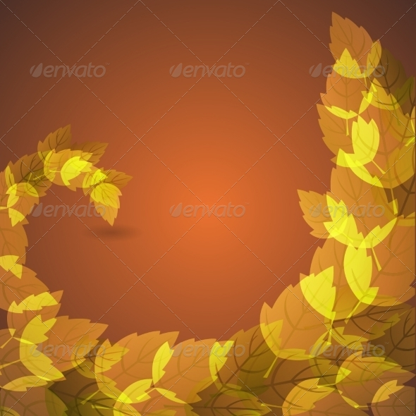 GraphicRiver Autumn Nature Background 8184166
