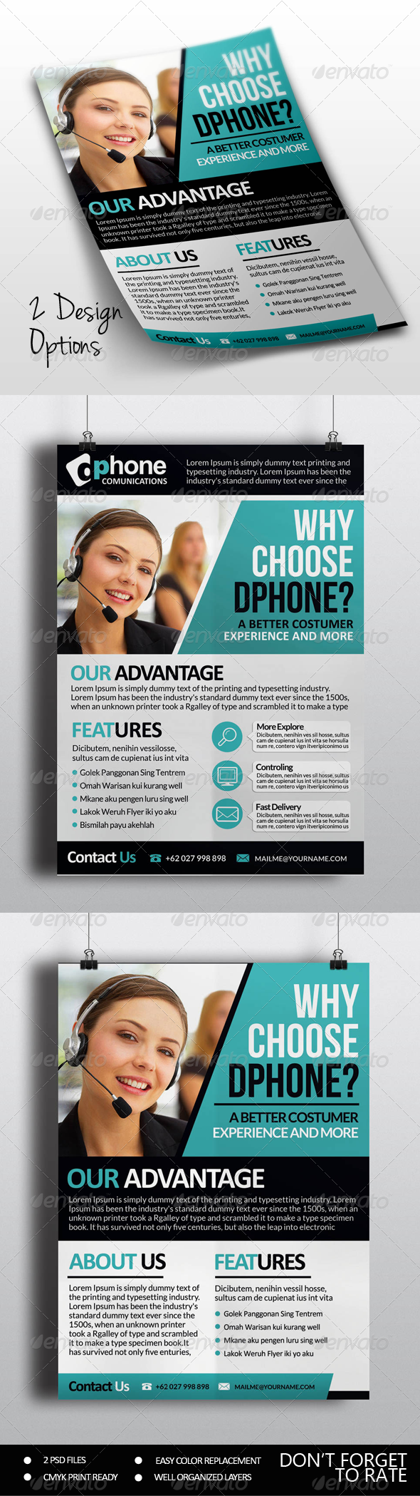 GraphicRiver Multipurpose Business Flyer Vol.5 8177888
