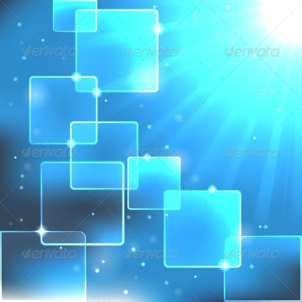 GraphicRiver Bright Blue Background 8184411