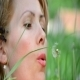 Young Lady Blowing A Dandelion 02 - VideoHive Item for Sale