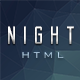 Night - Responsive Html Coming Soon Template - ThemeForest Item for Sale