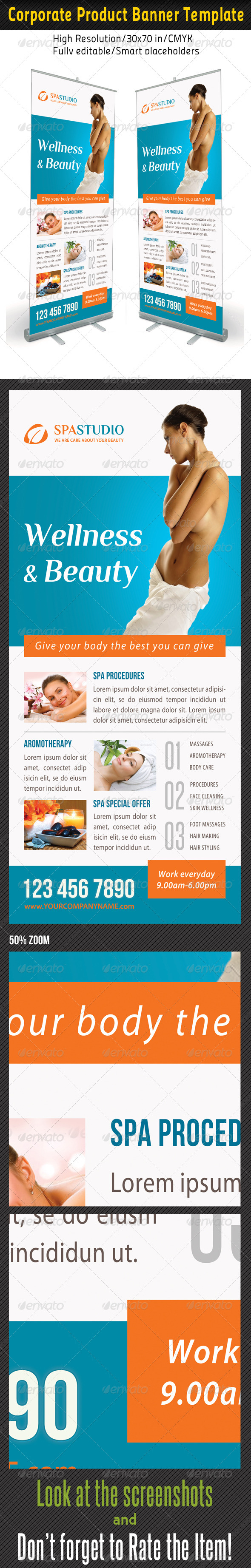 GraphicRiver Spa Studio Multipurpose Banner 20 8184729