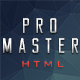 proMaster- Responsive Html Landing Page - ThemeForest Item for Sale
