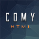 Comy-Responsive Html Coming Soon Template - ThemeForest Item for Sale