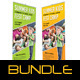 2 in 1 Kids Summer Camp Banners Bundle - GraphicRiver Item for Sale