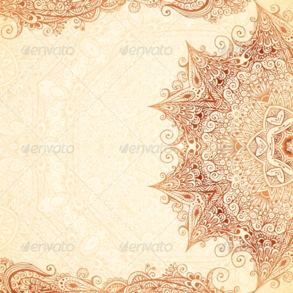 GraphicRiver Vintage Hand-Drawn Background 8185050