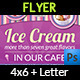 Ice Cream Flyer Vol.2 - GraphicRiver Item for Sale