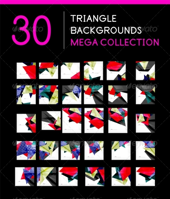 GraphicRiver Mega Collection of Abstract Backgrounds 8185381