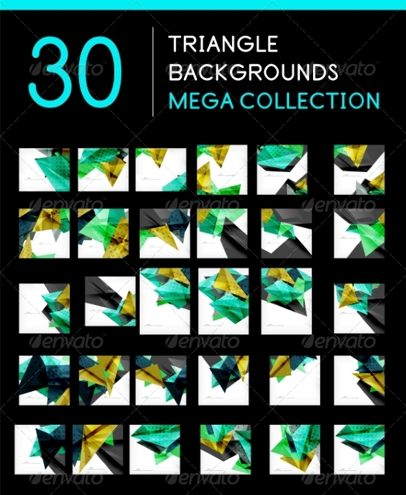 GraphicRiver Mega Collection of Abstract Backgrounds 8185391