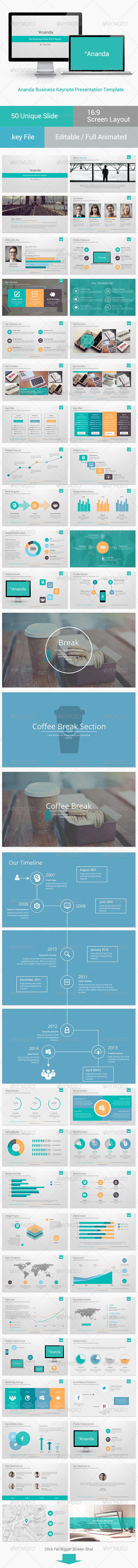 GraphicRiver Ananda Business Keynote Presentation 8185394