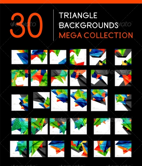 GraphicRiver Mega Collection of Abstract Backgrounds 8185395