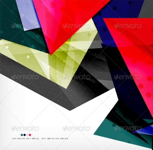 GraphicRiver Abstract Geometric Shapes Background 8185397