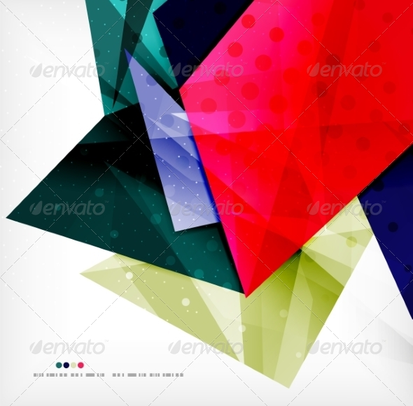GraphicRiver Abstract Geometric Shapes Background 8185399