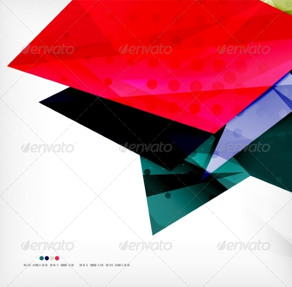 GraphicRiver Abstract Geometric Shapes Background 8185401