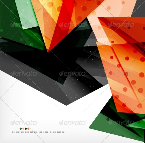 GraphicRiver Abstract Geometric Shapes Background 8185502