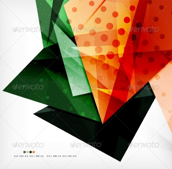 GraphicRiver Abstract Geometric Shapes Background 8185504