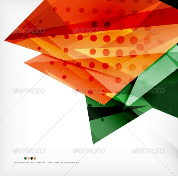 GraphicRiver Abstract Geometric Shapes Background 8185506